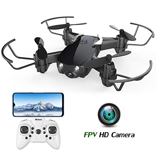 EACHINE Drone Camera HD E61HW Quadcopter Drone avec caméra Mini Drone pour...