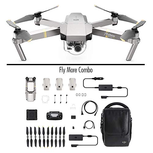 DJI - Mavic Pro Fly More Combo Platinum (Version UE) | Incl. 1 Drone...
